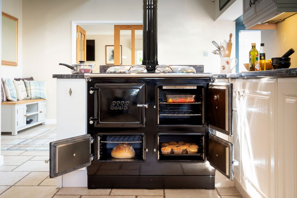 ESSE 990 Hybrid Wood/Electric Stove
