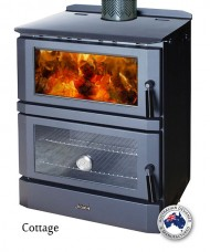 Jindara Cottage Freestanding Woodheater Cooker