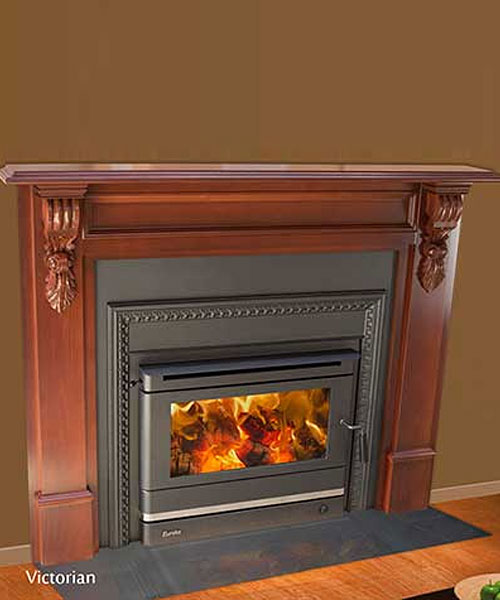 Heating Centre Riverina Eureka Victorian Fireplace Insert Woodheater